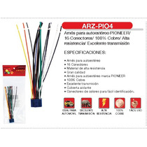 Arnés Fussion Autoestéreo Pioneer Arz-pio4 16 Conectores