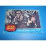 Cv Antigua 1977 Star Wars Topps Han Solo Chewbacca Vintage