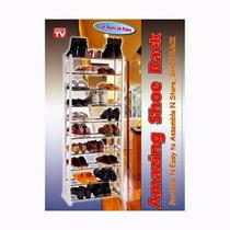 Amazing Shoe Rack Zapatera Organizador 10 Niveles 30 Pares