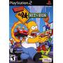 Patch The Simpsons Hit & Run Play2 Frete Grátis !!