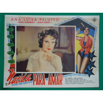 Ana Luisa Peluffo Nacida Para Amar Original Cartel De Cine
