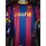 Camiseta Fútbol Barcelona España Nike 2010 2011 Messi #10 Xl