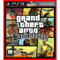Gta San Andreas Ps3 Código Psn Remasterizado