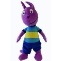 Muñeco De Peluche Backyardigans Austin C/sonido Nickelodeon
