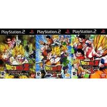 Dragon Ball Z Budokai Tenkaichi 3 Playstation 2 Jogos Ps2
