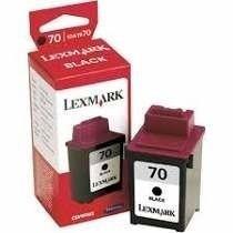 Cartucho De Tinta Lexmark Black 12a1970 100%original