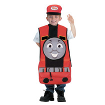 Disfraz Thomas James Rojo Tren Niño De 3 A 5 Años + Regalo