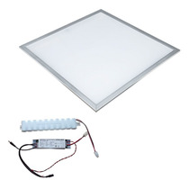 Panel Led Slim 60x60 Empotrar Colgante Lampara Gabinete Foco