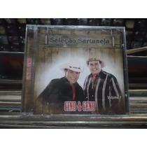 Cd Gino & Geno *seleção Sertaneja Vol.1