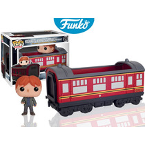 Ron Tren Hogwarts Express Funko Pop Pelicula Harry Potter