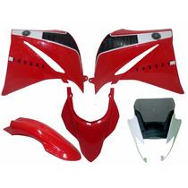 Kit Carenagem Xt660 Vermelha 2013 2014 Completo Speed China