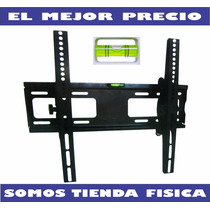 Base De Pared Tv, Led Lcd Plasma, 26 A 55 Inclinable Rc-400