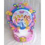 Enfeite Centro Mesa Festa Infantil Princesas Disney 35cm Alt