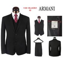 Terno Armani (costume) Com Colete Originais