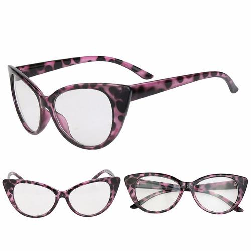Armação Óculos De Grau - Gatinho Cat Retrô Vintage Fashion - R  29,58 em  Mercado Livre b99e37af52