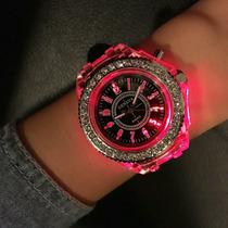 Reloj Diamond Luz Led Digital Deluxe