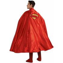 Disfraz Capa De Superman P/ Fiesta De Halloween. Rubies