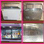 Máquina Barquillera+exhibidor Y Congelador De Helados+varios