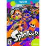 Juego Nintendo Wii U Splatoon Original Inklings Nuevo