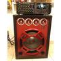 Planta Amplificador Casera Profesional Mgx4001 3000 Watts