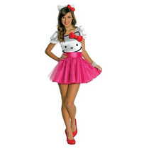 Hello Kitty - Hello Kitty Dress Costume Tutu Adolescente