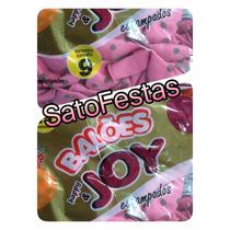 Balao 9 Joy Poa Rosa C/ Marron Pt C/25 Bexiga Festa