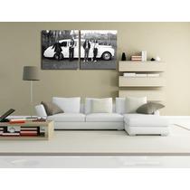 The Beatles Canvas 2 Bastidores De 60 X 60 Cm Envio S/c