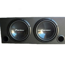 Caixa Com 2 Subwoofer Pioneer Champion Series 1400w