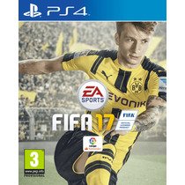 Playstation 4 Con Fifa 2017 Y 2 Joystick 12 Cuotas