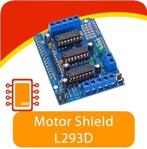 Motor Drive Shield Puente H L293d Arduino Uno Mega 91
