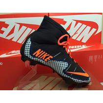 Chuteira Cr501 Nike Cano Longo, Trava Campo Promocão.