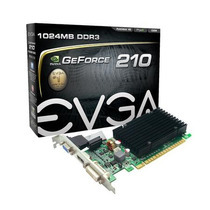 Placa Vídeo Evga Gt210 Geforce 1gb Ddr3 Pci-ex C/ Hdmi Dvi
