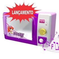Brinquedo Micro-ondas Meg Com Som E Luz - Magic Toys