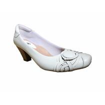 Sapato Branco Enfermeira Modelo Exclusivo Sorelle -medica