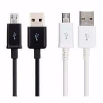 Mayoreo Cable Micro Usb Carga Y Datos 100 Pzs Para Cel Y Cam