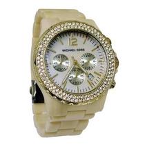 Relógio Luxo Michael Kors Mk5558 Madrepérola Com Caixa