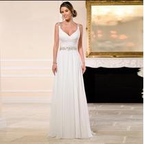 Vestido De Novia Modelo A4 Playa Elegante Moderno Barato