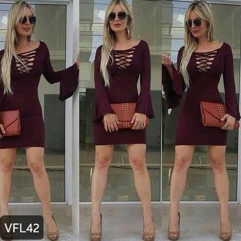 Vestidos da moda mercado livre