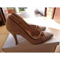 Zapatos Belle De Jour T 37 Beige Impecables