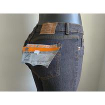 Oferta Bellos Pantalones Blue Jeans Dama Clasico Bota Recta