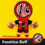 Hincha De Futbol Muñeco Personalizado Duff Regalo