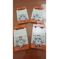 Baterias Para Aparatos Auditivos (a13) (10 Paquetes)