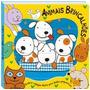 Livro Infantil Figuras Quebra Cabeças - Animais Brincalhões