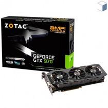 Placa De Vídeo Zotac Geforce Gtx 970 Nvidia 4gb Sem Juros
