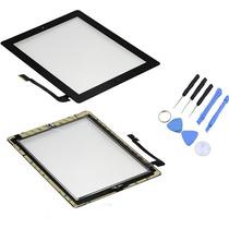 Touch Digitalizador Ipad 3 A1416 + Boton Home + Adhesivo 3m