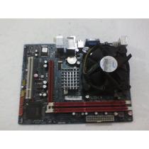 Placa Mãe Pci Express G41tm7 Socket 775+cooler E Processador