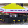 Heb Trenes Escala Ho Edificio Atlas Refreshments Stand Set B