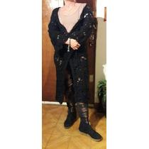 Buenas Manos Saco Tejido Al Crochet Vm019 A