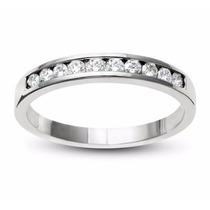 Churumbela Oro Blanco 14kt 0.41ct Diamante Natural G-h, Vs