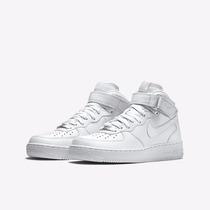 Nike Lançamento Air Force Cano Alto Mid One 1 White